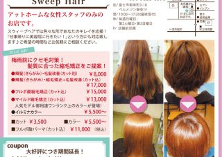 Sweep Hair